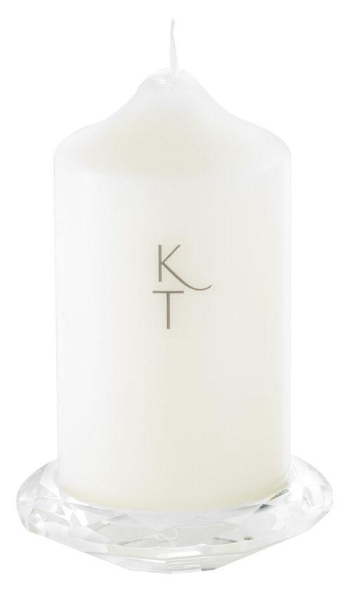 Crystal Pillar Candle Holder-0