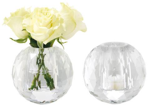 Crystal Vase / Tealight Holder-0