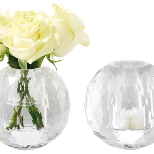 Crystal Vase / Tealight Holder-0