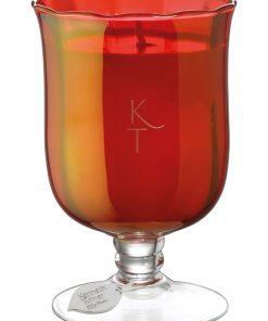 Winter Berries - Candle in Stem Vase -80