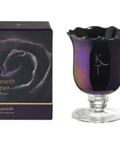 Masquerade - Candle in Posy Vase -0