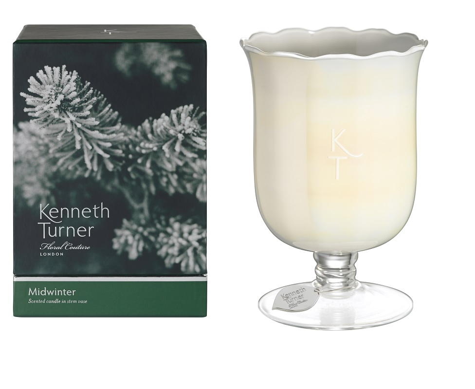 Midwinter Candle In Stem Vase 0