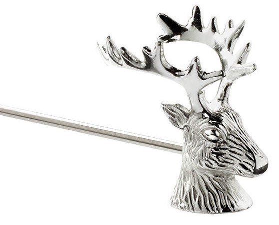 Stag Silver Plated Candle Snuffer-0