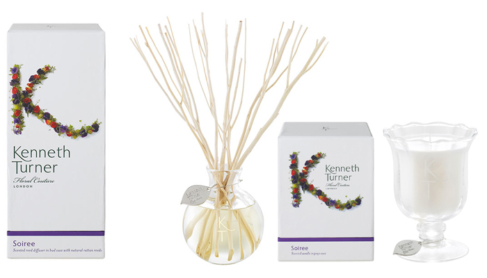 Reed Diffuser & Candle in Posy Vase - Soiree-0